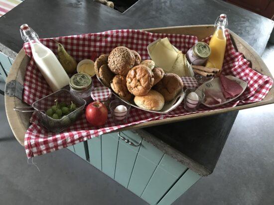 Een heerlijk ontbijt voor onze gasten